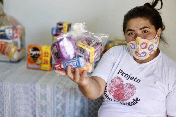 Andreisa Jesus, fundadora do projeto Minha Identidade, de Brasília