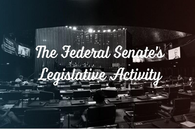 """Versão em inglês da página inicial do """"Entenda a Atividade Legislativa"""" - Agência Senado"""