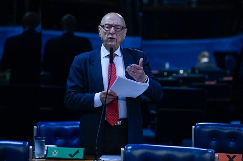 Senador Esperidião Amin (PP-SC) pediu que o presidente do Senado interfira e marque a sabatina de André Mendonça na CCJ
