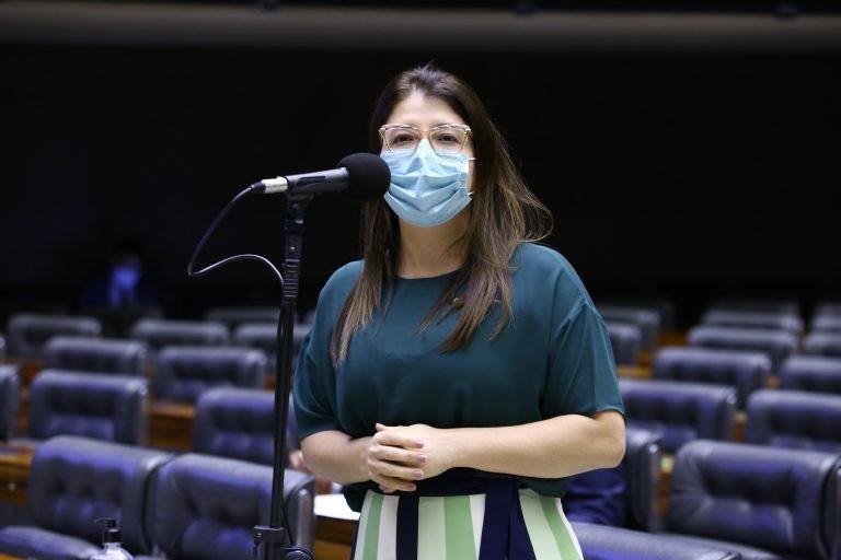 Carla Dickson é relatora da proposta - (Foto: Najara Araujo/Câmara dos Deputados)
