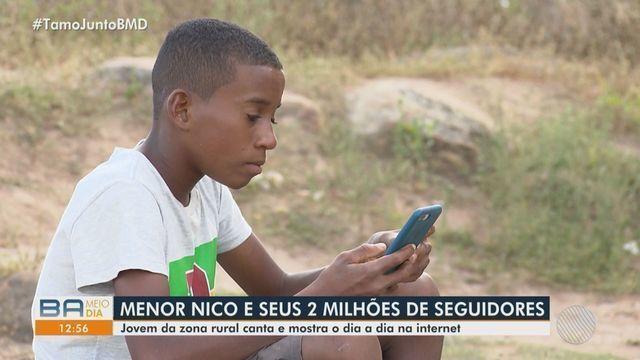 A história do Menor Nico (Reportagem da TV Bahia)